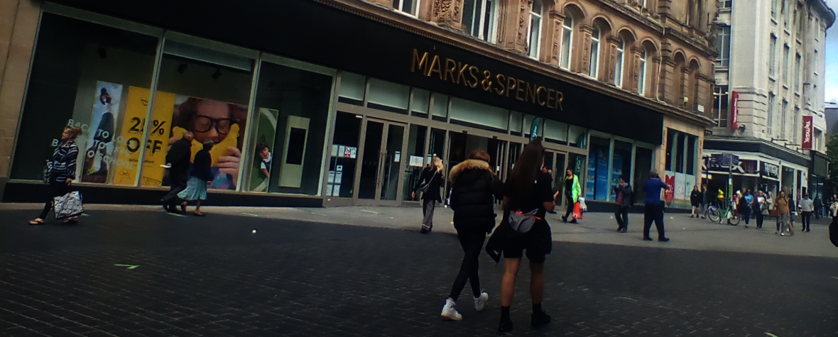 Marks and Spencer in Liverpool City Centre on Thursday 2nd July 2020